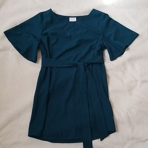 Isabel Maternity Short Sleeve Top Size S